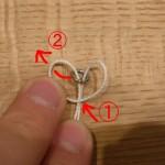 コマ結び?アシストフック作りにも便利なこの結び方の名前なんですか!?