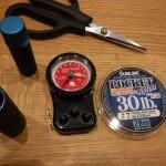 【紫外線劣化検証①】紫外線を1日浴びせた「ナイロンリーダー」の強度を測ってみた!