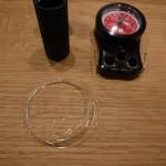 【紫外線劣化検証②】紫外線を1日浴びせた「フロロカーボンリーダー」の強度を測ってみた!