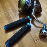 マウンテンバイクのハンドルグリップが「ノットの締め込み棒」に最適な件