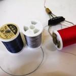 セキ糸の種類の違いで「自作アシストフック」の強度に差が出るのか実験してみた