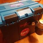 タックルボックス「ドカット」を保冷ドリンクホルダー付きに改造してみた!