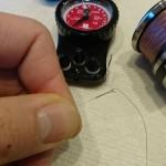 FGノット等、ノットの「編みこみ回数」はラインの太さによって変えるべきか? – 細糸編 –
