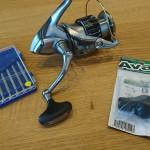 スピニングリールのハンドルノブの交換方法 Avail社のカスタムハンドルに変えてみた!