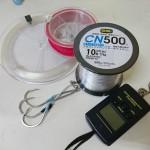 カーボナイロンライン |フロロやナイロンとの伸びの比較実験をやってみた!