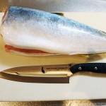 サビナイフの包丁バージョン「サビニャイフ キッチン 牛刀」レビュー! 魚を捌いてみた!