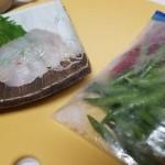 ワサビが飽きたら試してみて!お刺身を青唐辛子で食べるのがなかなか美味い!