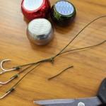 簡単で抜けない!タイラバ3本針アシストフックの結び方(自作方法)と強度テスト