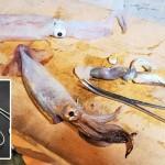 釣り人ならマスターしておきたい!フォーセップを使った話題のイカの墨抜きの方法とコツ